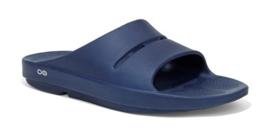 Oofos Recovery Slippers Slide Blauw | Heren