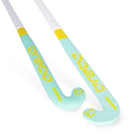 Brabo Hockeystick ORGNL Cheetah Mint/Geel BSJ320b JR