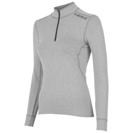 Fusion C3 Zip Neck Grey 900155 DAMES