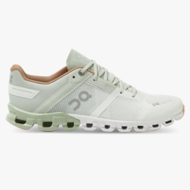 On Hardloopschoenen Cloud Flow Aloe/White | DAMES