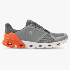 On Hardloopschoenen Cloud Flyer Grey Orange  | HEREN