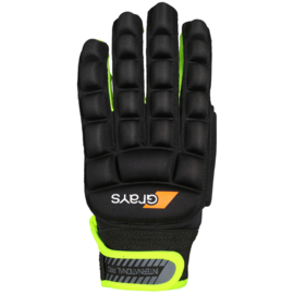 Grays International Pro Glove Zwart Geel