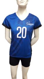 Wedstrijd Shirt Dames volleybal vereniging Oberon