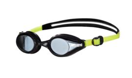 Arena Zwembril Training Sprint Zwart/Groen Jr.
