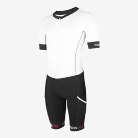Fusion Trisuit Speedsuit White/Black Unisex