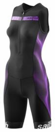 Sailfish Trisuit Comp Zwart/Berry Dames