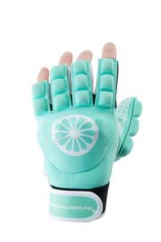 The Indian Maharadja Glove shell/foam Half Finger Mint