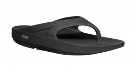Oofos Recovery Slippers Ooriginal Mat Zwart | Unisex