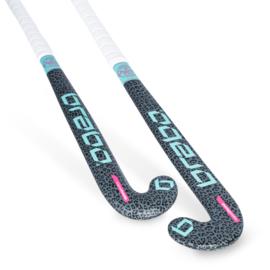Brabo Hockeystick ORGNL Cheetah Grijs/MInt  BSJ320b JR