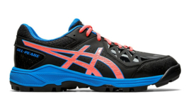 Asics Hockeyschoen Gel Peake 1113A023-002 Black/Blue HEREN