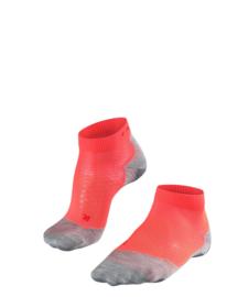 Falke Running Sok RU5 Short 16730-8584 | Neon Red