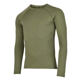 Fusion C3 Merino Shirt LS Groen 900184 HEREN
