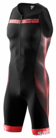 Sailfish Trisuit Comp Zwart/Rood Heren