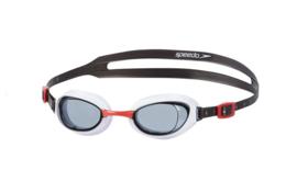 Speedo Zwembril Aquapure Zwart/Wit/Rood