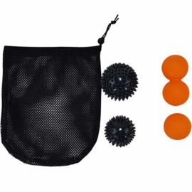 Tunturi massage set met verschillende ballen