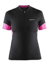 Craft Fietskleding Wieler Shirt 1903981 Zwart/Roze DAMES