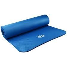 UF Equipment Yoga en Fitnessmat Blauw 61x183x0.4 cm