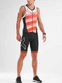 2XU Trisuit Compression Full Zip Heren