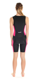 Dare2Tri Trisuit Zwart/Roze DAMES