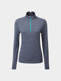 RonHill Hardloopkleding Shirt Thermal Zip 005178-0675 DAMES