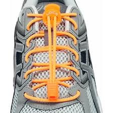 Elastische Veters | Lock Laces Oranje