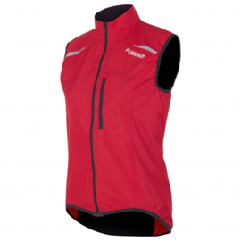 Fusion S1 Run Vest 900037 Red DAMES