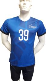 Wedstrijd Shirt Heren volleybal vereniging Oberon