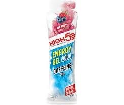 High 5 EnergieGel  Aqua Berry met caffeine