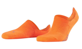 Falke Invisible sneaker sok met anti-slip 16601-8034 | Flash Orange