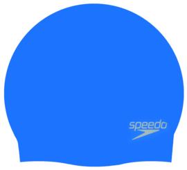Speedo Silicone Cap Blauw Sr.