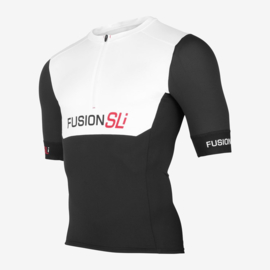 Fusion Sli Tri Top Zwart/Wit Unisex