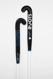 Roots Hockeystick 50% Carbon Elements | Zwart Blauw