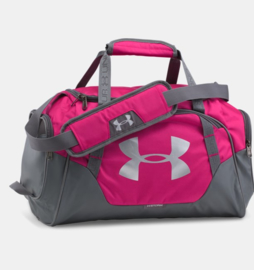 Under Armour Duffel Small Roze