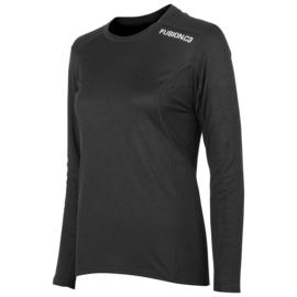 Fusion C3 LS Shirt Zwart 900020 DAMES