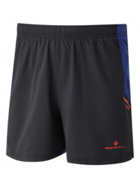 RonHill Stride Cargo Short 1 003849-00219 Black/Flame HEREN
