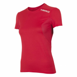 Fusion C3 T-Shirt Red 900030 DAMES