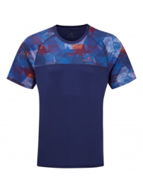 RonHill Stride Revive Shirt 1 004603-00643 Midnight Blue/Flame HEREN