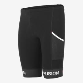 Fusion Sli Tri Korte Tight Zwart Unisex
