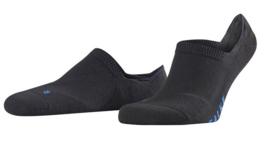 Falke Invisible sneaker sok met anti-slip 16601-3000 | Zwart