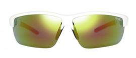 Sinner Antiqua Sportbril + Extra Lenzen & Brillenkoker Wit/Rood