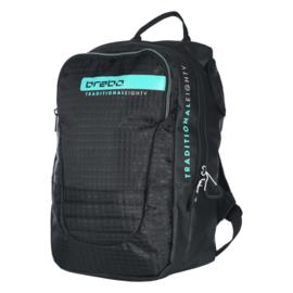 Brabo Hockeytas Backpack Traditional Zwart/Mint  BB5130