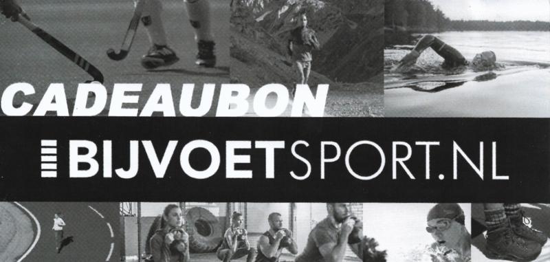 Cadeaubon van Bijvoet Sport