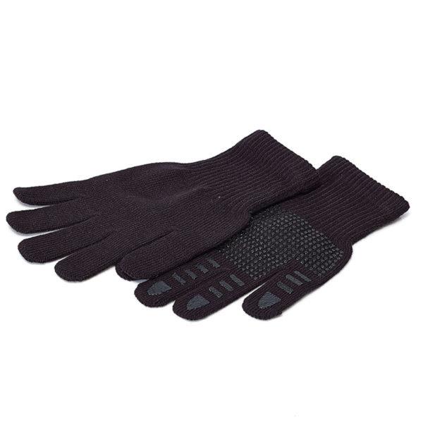 Brabo Winterhandschoenen zwart met grip