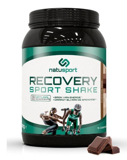 Natusport Recovery Sport Shake   Chocolade