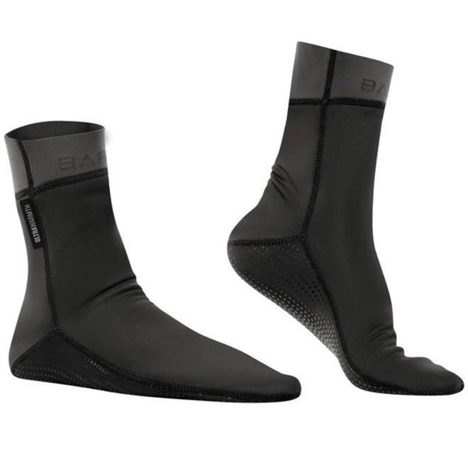 Exowear socks voor zwemmen in buitenwater | Zwart Unisex