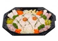 Opgemaakte BBQ-salades