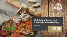 Paas Barbecue Pakket