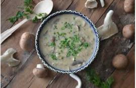 Bospaddenstoelen soep