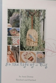 In the life of a Bag by Annie Downs- Hatched & Patched