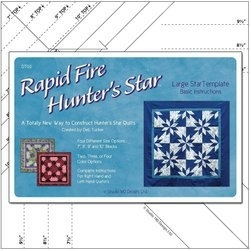 Rapid Fire Hunter's Star -Large Star